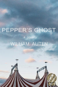 William Auten Pepper's Ghost 2016 novel cover link to portfolio